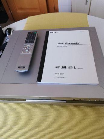 Gravador/Leitor DVD Sony RDR-GX7