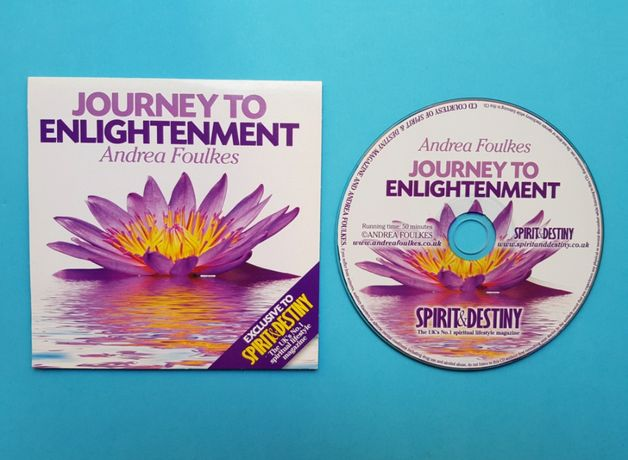 """CD Audiobook """"Journey To Enlightenment"""" - Andrea Foulkes"""