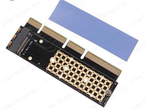 Адаптер M.2 NGFF NVMe SSD на PCI-e x16