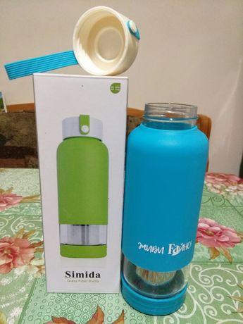 Glass filter bottle еко пляшка типу my bottle бутылка бутилка