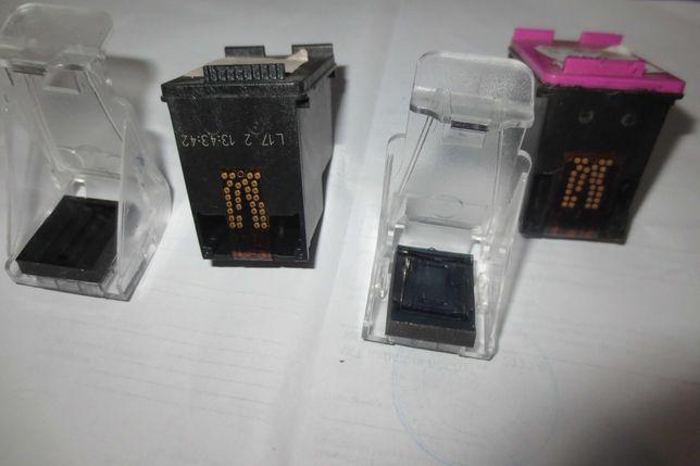 Картриджи HP 300 ч/б и цветной