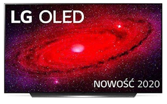 TELEWIZOR Lg Oled55Cx3La Television NIE OTWIERANY  Odbior osobisty