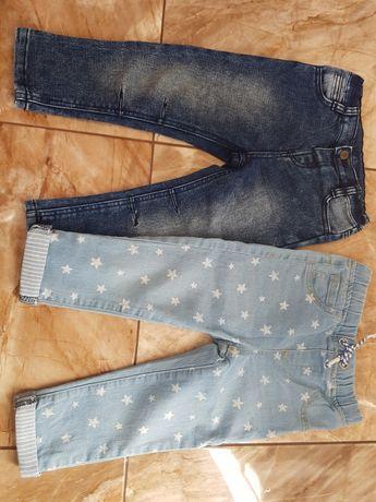 Jeansy dziecięce 92/98