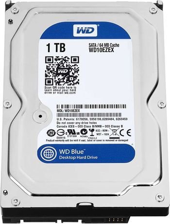 Disco Rígido Western Digital  1.0 TB  / Novo