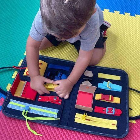 Развивающая игрушка кейс для детей моторика рук обучение подарок