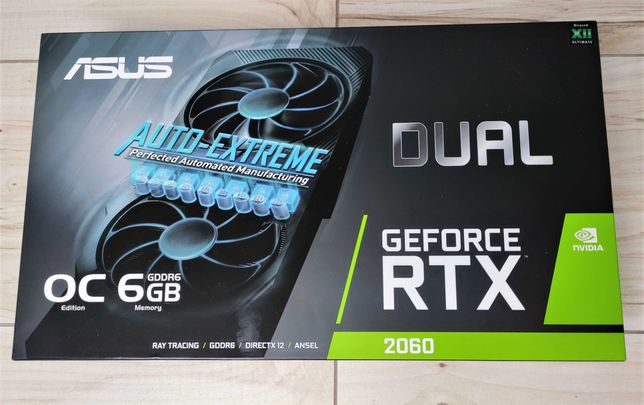 ASUS GeForce RTX 2060 Dual Evo OC 6GB GDDR6