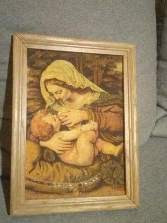 Obraz matki boskiej z Dzieciątkiem