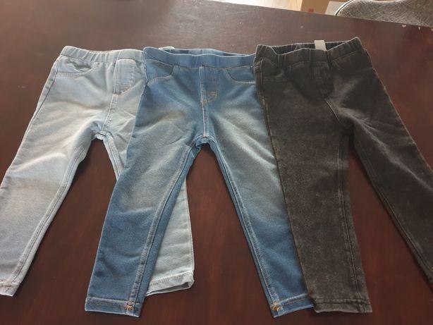 Spodnie legi hm  Nowe