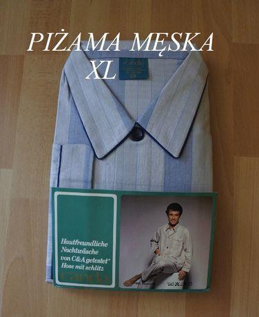 Canda rozmiar XL piżama męska nowa 100% Bawełna