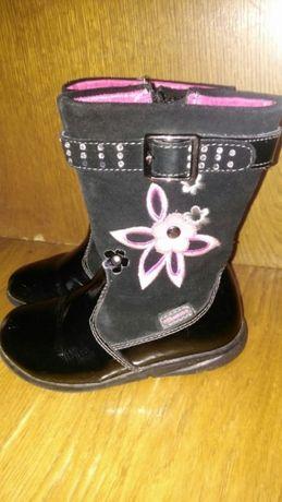 Чобітки черевички сапожки для дівчинки 15,5см по встілці