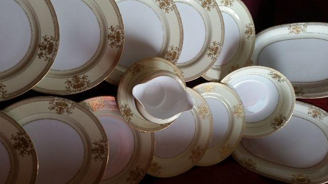 Explendido servisso porcelana Isamu l,c,mad china pintada a po oro 24k