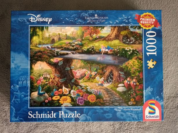 """Puzzle 1000 el. Disney """"Alicja w Krainie Czarów"""""""
