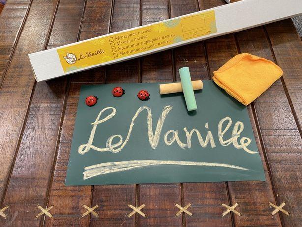 Флипчарт, Магнитно Меловая пленка, Меловые обои Le Vanille 1,2*1,0 м