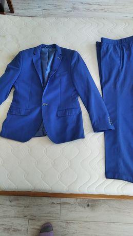 Garnitur niebieski Diak