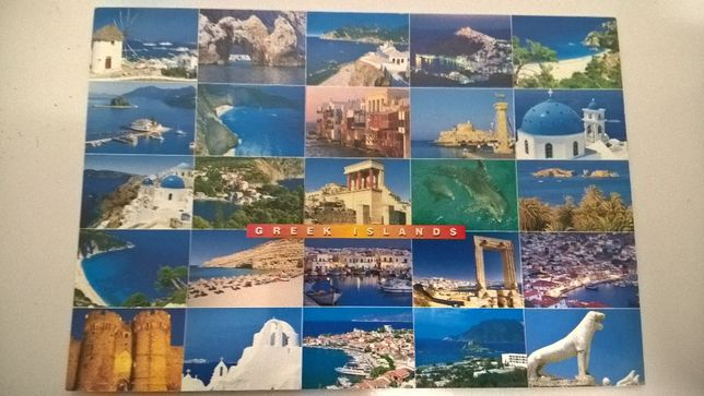 Postal Grécia - Ilhas Gregas (portes incluídos)