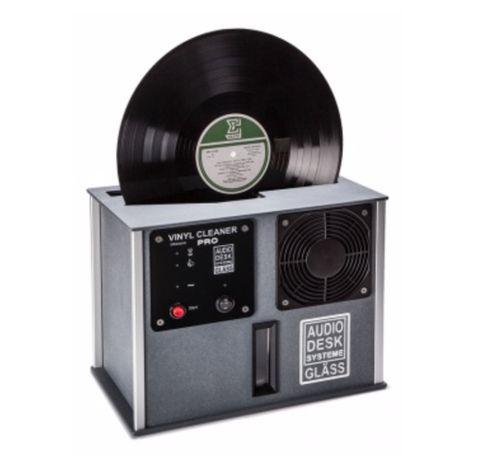 Máquina limpeza discos vinil Audio Desk Systeme Vinyl Cleaner