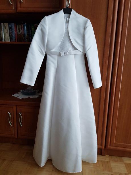Sukienka komunijna. Rozmiar 134