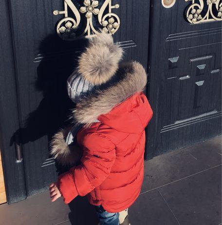 Безкоштовна доставка укрпоштою. Дитячий зимовий комбінезон.
