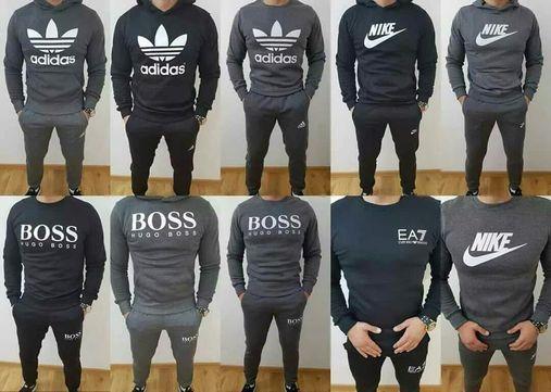 Komplety męskie z logo Boss Adidas Nike Tommy M-XXL!!!