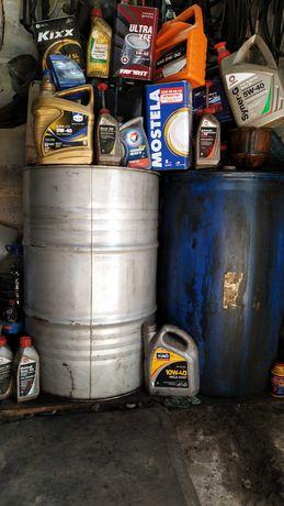 Отработанное масло 200 л. 7 гр-л.