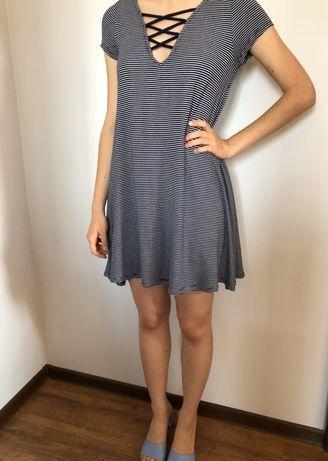sukienka w paski TK Maxx