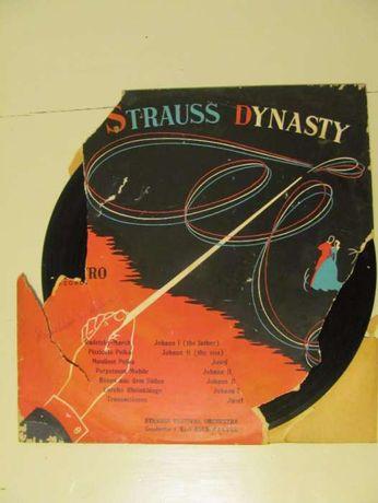 Vinil 10'' The Strauss Dynasty