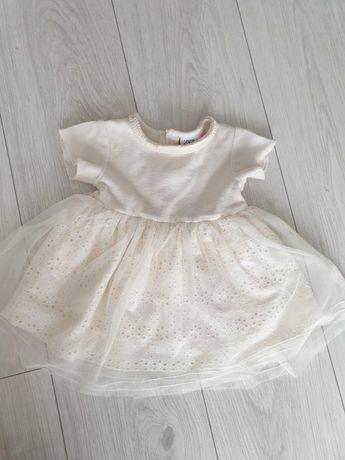Sukienka zara 74 nowa chrzest