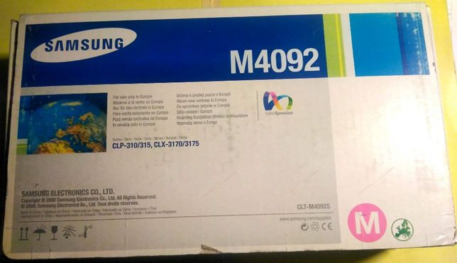 Toner Original Laser SAMSUNG CLP310, CLP 315, CLP317