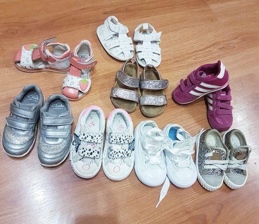 Обувь на малышку девочку кеды кроссовки босоножки  Next clarks Tom.m