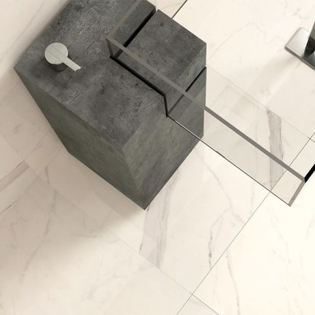 Płytki Gres Calacatta polerowany 60x60x1 cm Marmur / podłoga / ściana