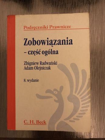 Zobowiązania - cześć ogólna C.H.Beck Z. Radwański A. Olejniczak