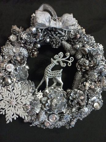 Рождественский венок,новогодний декор