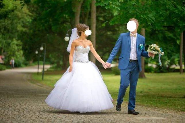Suknia Ślubna Książniczka ;-)