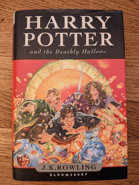 Harry Potter and the Deathly Hollows - książka po angielsku