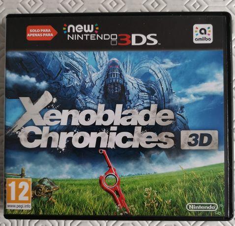 Jogo Nintendo 3ds Xenoblade Chronicles