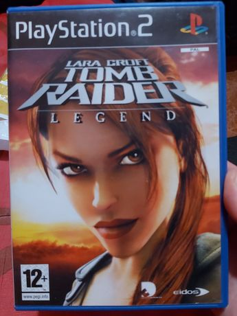 Jogo Tomb Raider legend PS2