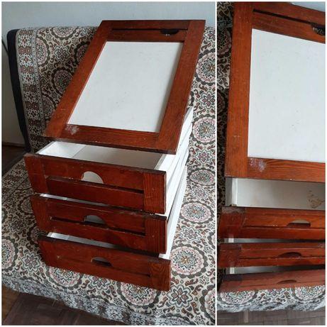 3 szuflady i drzwiczki od szafki oddam