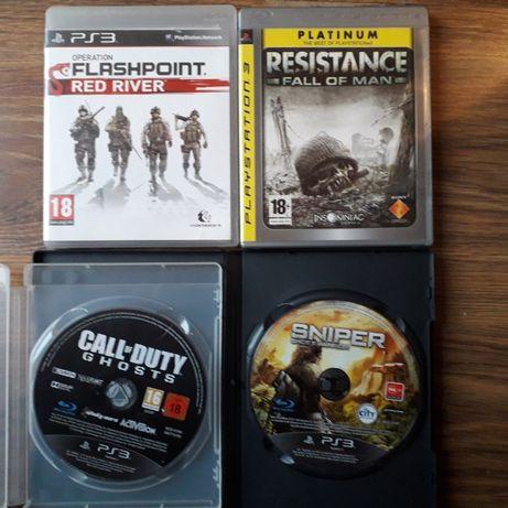 Bdb zestaw gier wojennych na konsolę PS3 Playstation 3