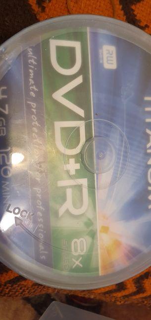 Płyty DVD+R titanium RW 25szt