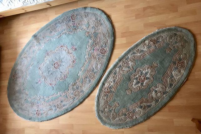 Dwa dywany wełniane - komplet
