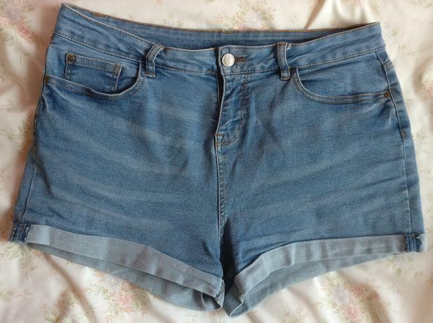 Szorty krótkie spodenki jeans PEPCO
