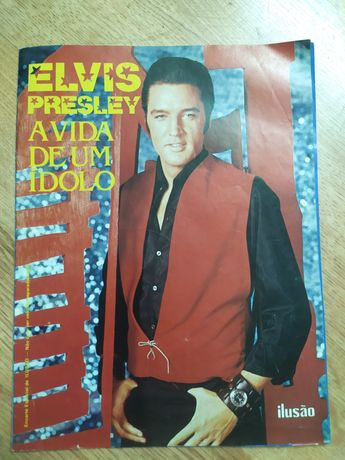 """Vendo revista """"Elvis Presley- A vida de um ídolo"""" de 1990"""