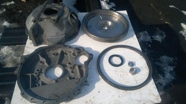 Перехідна плита до двигуна т40 львівський погрузчик під газ52 коробку
