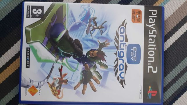 Gra na PS2 antigrav