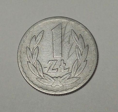 Moneta 1 zł z 1969r.