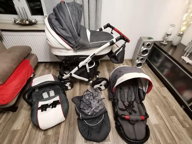 Wózek dziecięcy COLETTO Florino CARBON 3w1