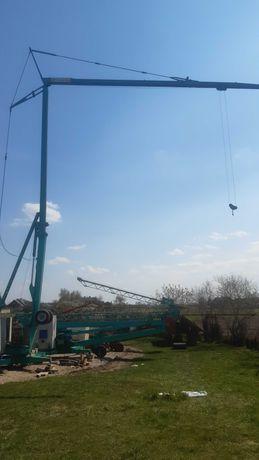 Żuraw samomontujacy dzwig szybkomontujacy budowlany wiedolnoobrot