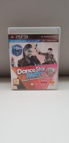 Move DanceStar Party Zostań Gwiazdą Tańca PL na PS3