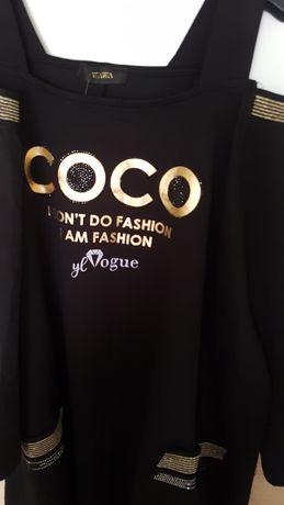 Tunika Coco większy model na,większe biodra