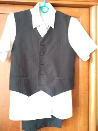Spodnie i kamizelka dla chłopca rozmiar 146